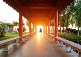 suzhou trädgårdar foto