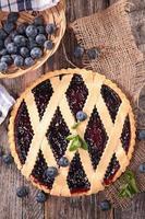 blåbärspaj foto