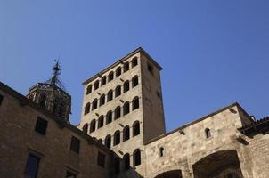 plaza del rei, barcelona foto