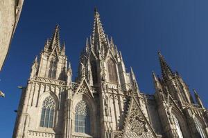 katedralen de barcelona i barcelona