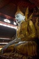 ngar htat gyi buddha bild. foto