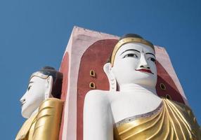 buddha i myanmar foto