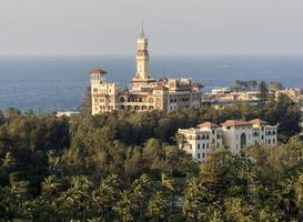 montazah palace, alexandria foto