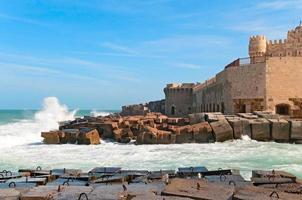 kusten i Alexandria foto