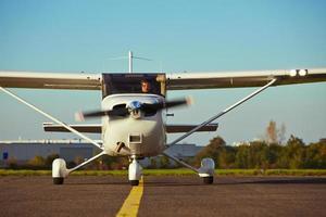 privat flygplan foto