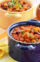 vegetarisk chili foto