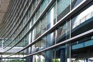 scen för flygplatsbyggnad i Peking Kina foto