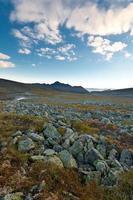 magiska bergslandskap. foto