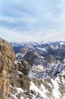 tyska Alperna landskap