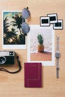 semester nödvändigheter. foto