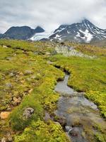 vackert landskap i norge, Skandinavien foto
