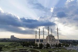central moské i Adana Turkiet foto