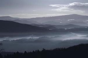 Slovakiska vintern foto