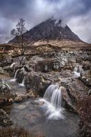 skotskt landskap foto