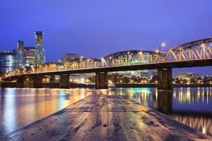 landskap i Portland, Oregon, USA. foto