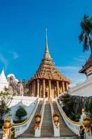 landskap av phra phutthabat templet, Thailand. foto