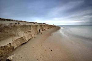 baltiska havet i det vackra landskapet, naturen