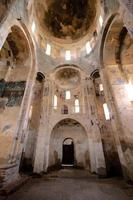akdamar ö kyrktak, kupol och fresker foto