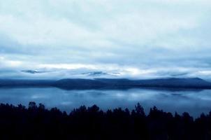 frusen sjö foto