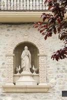 staty av santo domingo de la calzada. foto
