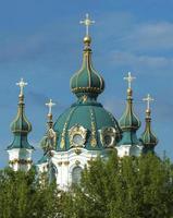 st. andrews kyrka i kiev foto
