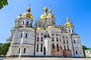 kiev-pechersk lavra grundades 1051 av yaroslav den kloka. foto