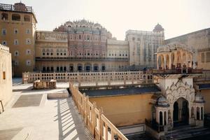 hawa mahal palats i jaipur foto