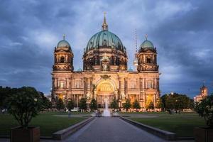 berlin domkyrka - berliner dom tyskland foto