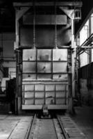 industriell lastbehållare foto