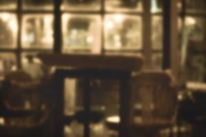 oskärpa restaurangbakgrund foto