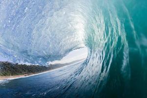 våg surfing rör foto