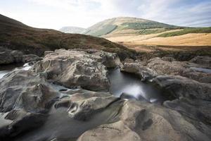 vattenfall med fin utsikt foto