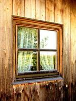 koja och fönster foto