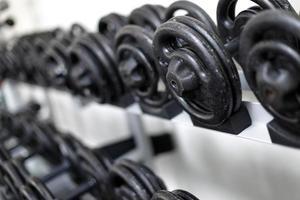 hantel vikt gym foto