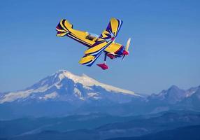 pitts modell 12 aerobatic biplane foto