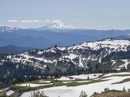 utsikt över Mount Adams, Washington foto