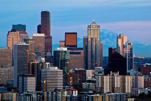 Seattle horisont från Kerry Park foto