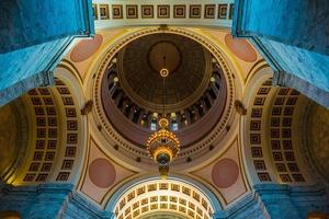 capitol rotunda - olympia, washington usa