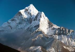 vacker utsikt över Mount ama dablam
