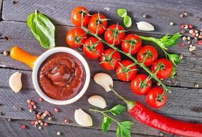 tomatsås foto