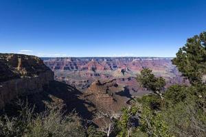 colorado grand canyon, från södra kanten, Arizona foto