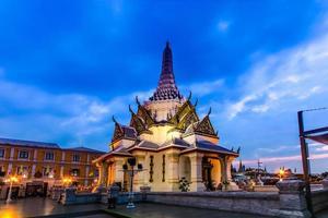thailand helgedom av stadens pelare foto