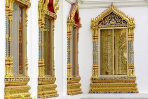 wat benchamabophit i bangkok, Thailand foto