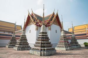 wat pho tempel, bangkok thailand