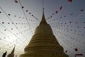 thailand bangkok wat golden mount foto