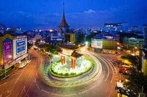 Kina stad bangkok thailand foto