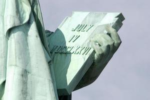 frihetsstatyn i New York foto