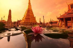 Thailand bangkok wat phra kaew foto