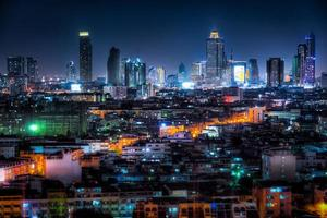 bangkok, stad som aldrig sover foto
