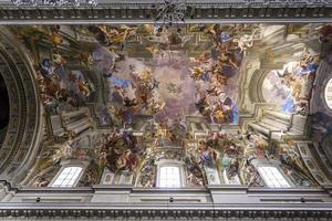 sant ignazio kyrka, Rom, Italien foto